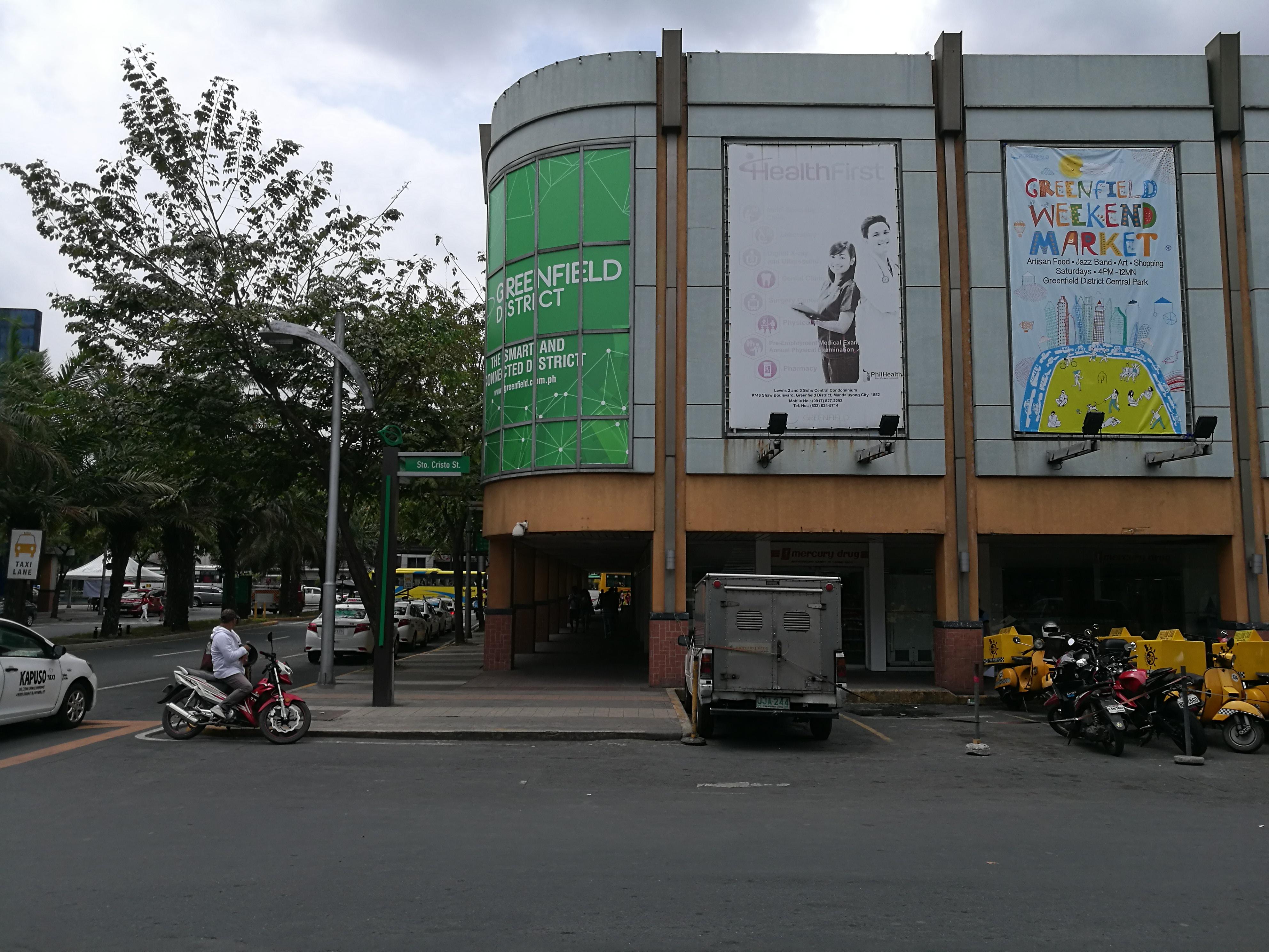 【フィリピン】花金の夜に行ってみたい場所「Greenfield District」