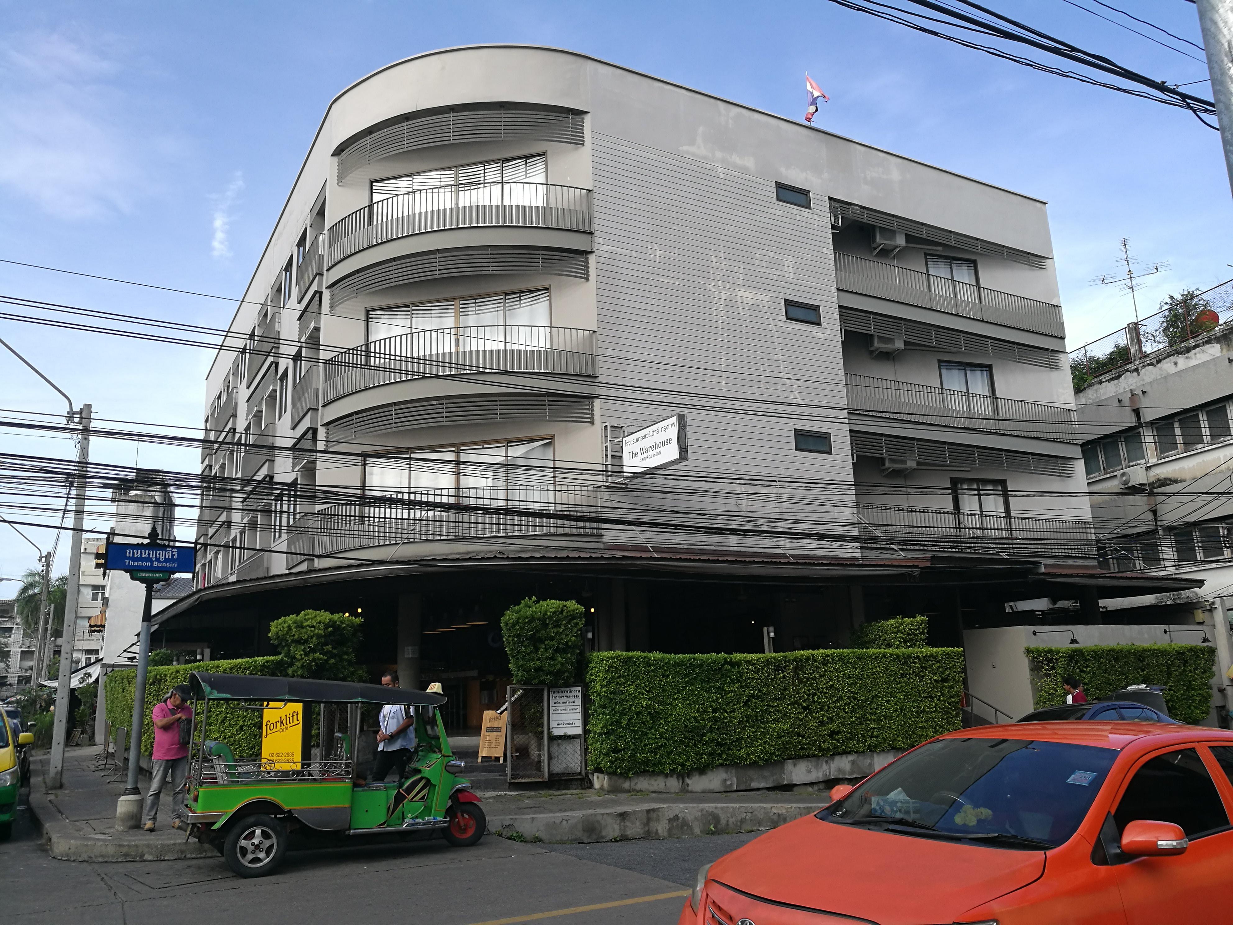 カオサン通りから近くてバンコク観光にオススメのホテル「The Warehouse」