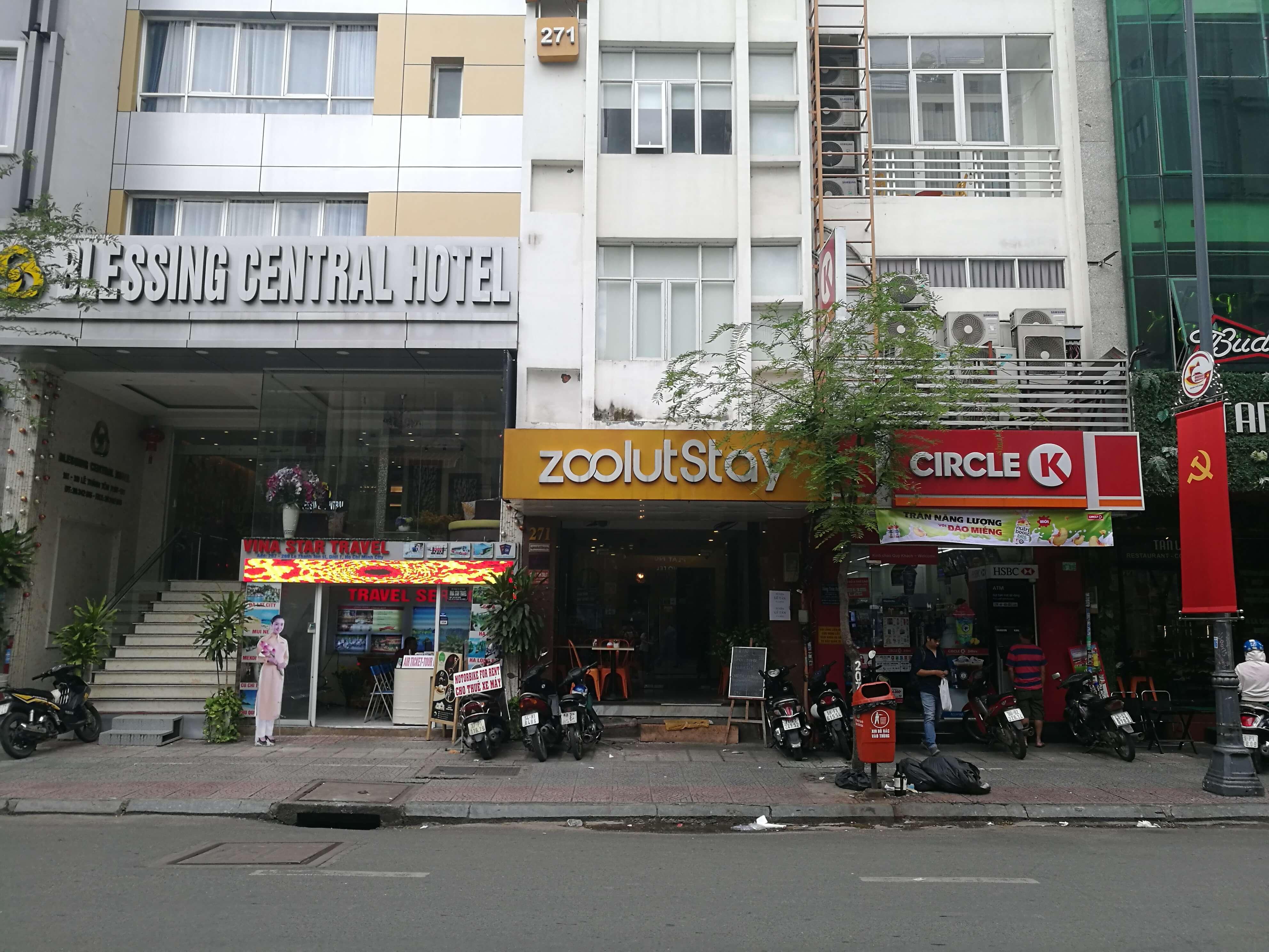 ベンタイン市場に近くてホーチミン観光にオススメのホテル「zoolut Stay」